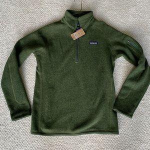 NEW Patagonia Better Sweater 1/4 Zip Medium $99